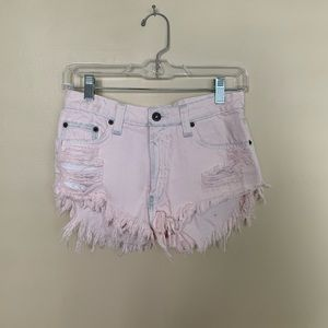 Carmar Denim pink shorts from LF